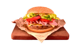 Hamburguesa súper