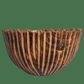 Jagged Wooden Bowl