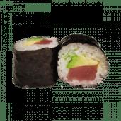 87. Hosomaki atún y aguacate (8 uds)