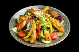 Салат теплий з куркою (250г)