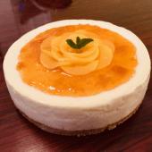 Cheesecake De Duraznos (20 cm.)