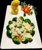 Peste cu broccoli