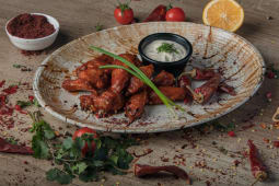 Chicken wings chilli
