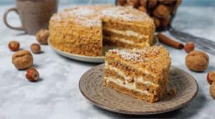 Торт моркв'яно-горіховий (250г)