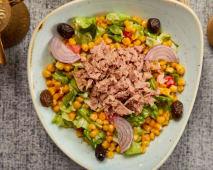 Salata  Ton balikli salata