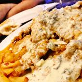 Escalopines De Ternera Asturiana Con Salsa De Queso De Cabrales
