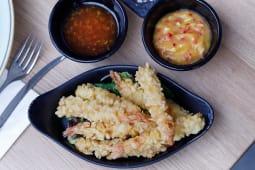 Creveti tempura