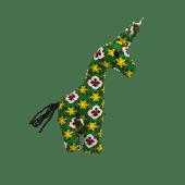 Kitenge Giraffe