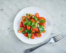 Pomidory z kolendrą