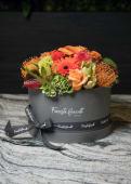 Cappelliera fiori misti L