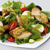 Grilled Chicken Strips (served with Salad)