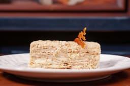 Торт Наполеон з домашнім ягідним фліпом (130г)