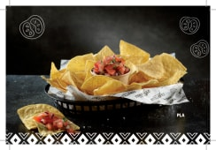 Tortillia Chips con  Pico de Gallo