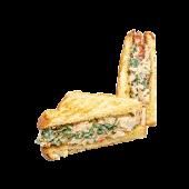 Chicken chipotle sándwich