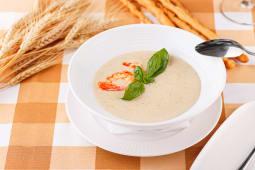 Вершково-овочевий суп-пюре з креветками (350г)