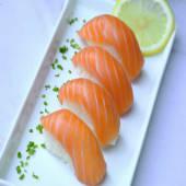 Niguiri salmón x5