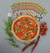 Піца Шашлик з телятини (32см)