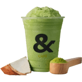 Matcha coco frost