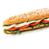 """Sanduíche - Sugestão Mozzarella e Pesto (VEGETARIANA)"""""""