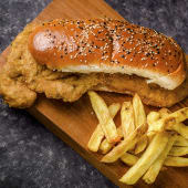 Sandwich Milanesa Simple