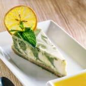 Чізкейк з пудрою зеленого чаю (150/30г)