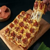 Crea tu pizza un ingrediente (gigante)