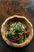 Салат з синьою капустою та медовими родзинками (230г)