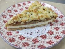 Тертий яблучно-сирний пирог (125г)