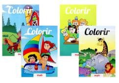 Livros De Colorir Colecao Colorir Sort.