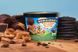 Ben & Jerry's Caramel Brownie Party 500 mL