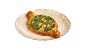 Хачапурі з лососем та шпинатом (330г)