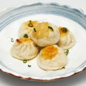 #103 Xiaolongbao relleno de carne a la plancha