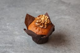 Muffin karmelowo-orzechowy / Muffin with caramel and nuts