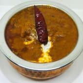 Pollo vindaloo (sin lactosa y gluten, recomendación del chef)