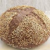 Hogaza pan alto en proteínas