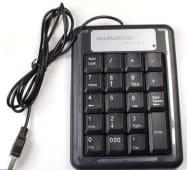 Teclado Numerico Usb, Diseño Slim, Laptop Portatil PC