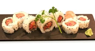 Spicy tuna uramaki (8 pzs.)