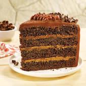 Torta de chocolate (porción)
