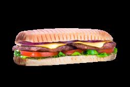 Sándwich doble burger (grande)