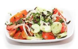 კიტრი-პომიდვრის სალათი (250გრ)