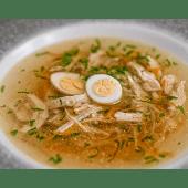 Курячий суп на домашній курочці (350г)