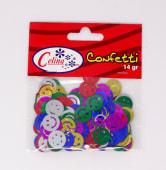 Confeti 14Gr Caras Felices Ref.050-0065