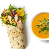 Zestaw Wrap Tajski z zupą