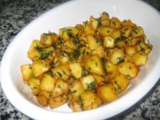 Hot potato  ( Lebanese )