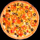 Піца Double начинка Вегетаріанська (615г/30см)