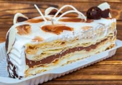 Торт Рішельє половинка (800г)