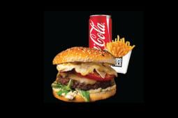 Fast Food Meniu Cheeseburger Dopo Poco