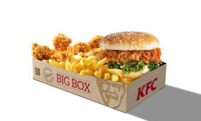 Zinger Burger Box