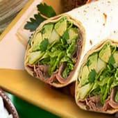 Avocado Beef Wrap