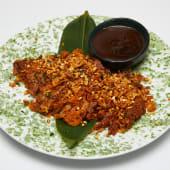 #48 Pato crujiente en salsa de almendras